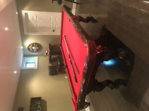 High Quality Billiard Table - Outfit whole man cave....