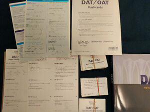 DAT Kaplan Package: Guide, Lesson Books, Soap, Flashcards Kitchener / Waterloo Kitchener Area image 2