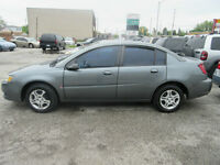 2004 SATURN ION :  SALE - $ 2999 WITH ONLY 125,000 KMS