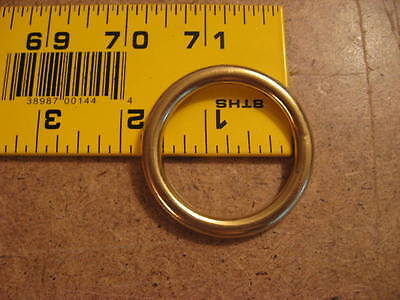 """1 1/2"""" Solid Brass O Rings SCA (Pack Of 5)"""