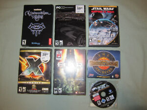 PC Game Bundle(Physical copies) - 6 Games $2 each $10 for all