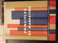 Principles of marketing 9th Canadian edition 60$