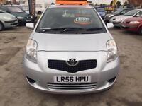 2006 Toyota Yaris 1.3 ( 85bhp ) MMT T3 FULL SERVICE LONG MOTFINANCE AVAILABLE