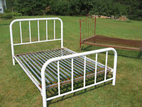 WROUGHT IRON & STEEL ANTIQUE BEDS FOR SALE