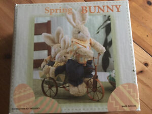 Spring Bunny Decoration & Easter Sign