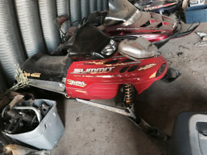 2001 skidoo zx part out