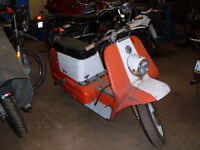 Restore a Harley Scooter,