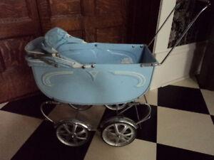 vintage toy stroller