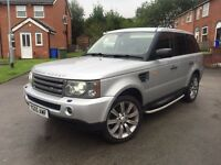 2005 RANGE ROVER SPORT 2.7 TDV6 HPI CLEAR SEVICE HISTORY PX GTI GOLF S3 BMW £8795
