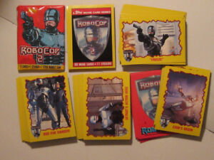 ROBOCOP 2  CARD SET 1990- 88 CARD SET PLUS 11 STICKERS (TOPPS)