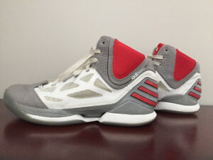 Adizeros basketball shoes.