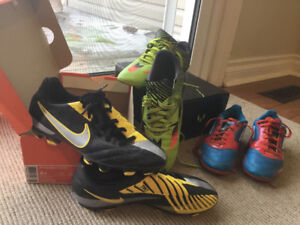 SOCCER CLEATS - boys outdoor Youth sizes 3, 4 & 6