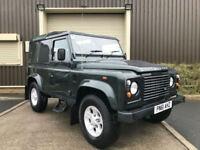 (61) 2011 Land Rover 90 Defender 2.2TD DPF Hard Top 1 Owner FSH + VAT