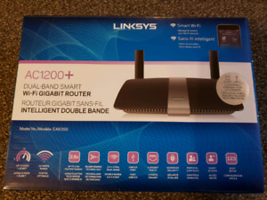 Linksys AC1200+ Internet WiFi Router Dual Band