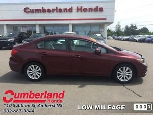 2012 Honda Civic EX  - Sunroof -  Bluetooth - Low Mileage