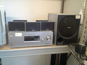 Sony 5.1 surround receiver and speakers