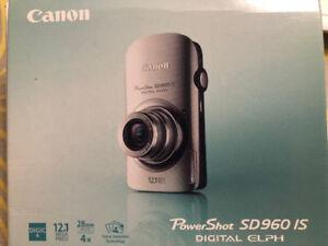 *MINT* Canon PowerShot SD960 IS Elph Digital Camera