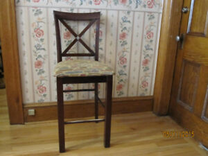 high table and 6 chairs