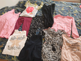 Bundle of girls clothes size 7-9 years in very good condition.