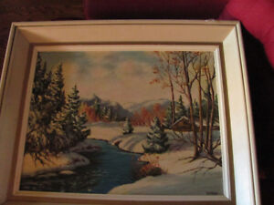 Original oil by J. Storm---now reduced!!!