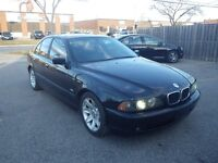 BMW 525i, 5-SPEED MANUAL, M-SPORT PACKAGE, CERTIFIED