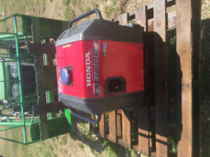 LIKE NEW !!! Honda Inverter EU 3000 IS