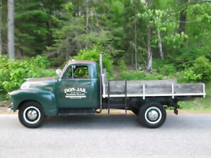 1951 CHEVROLET 1 TON model # 1430  Stake truck with hoist !