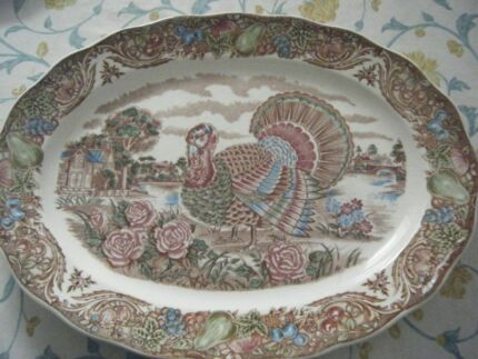 Platter Turkey Ceramic Platter  Made in Japan Noranda Bayswater Area Preview