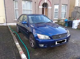 Lexus is200 roof gutter rubber trim blue 8m6 98-05 breaking spares can post is 200 is300