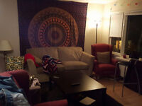 3 Rooms for SUBLET in a 5-bedroom apartment, MAY-AUGUST