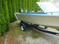 !5 Ft. Starcraft comfortable fishing boat