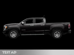 2016 Gmc Canyon 4WD SLT    Leather   Bose   Driver Alert Package