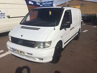 SOLD !!! mercedes benz vito diesel van only £2295 no vat