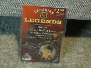 Official Hockey Hall of Fame Medallion Collection