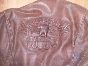 RIDER CHAPS AND GENUINE H.D. LEATHER JACKET