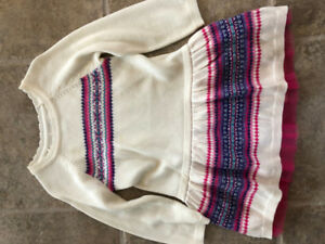 the childrens place size 2T sweater dress.