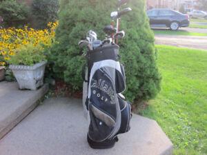 Men's Left Hand 12-pc Golf Clubs Set (Top Flite Tour Edition)