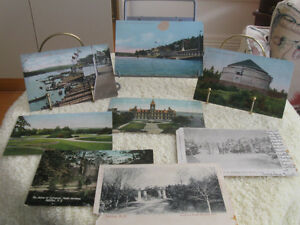 ...EIGHT INTERESTING Old .[Early 1900's] HALIFAX  POST CARDS ...