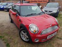 2007 MINI COOPER 1.6 PETROL*NEW BRAKE PADS*HALF LEATHER TRIM*GREAT CONDITION*