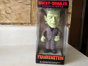 2011 FUNKO WACKY WOBBLER FRANKENSTEIN BOBBLE HEAD London Ontario image 1