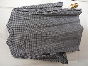 Women's Old Navy black/white dress shirt buttondown XL NWT London Ontario image 7