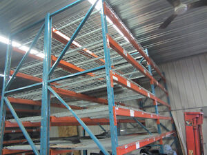Heavy Duty Industrial Ready Pallet Rack Warehouse Shelving Mesh