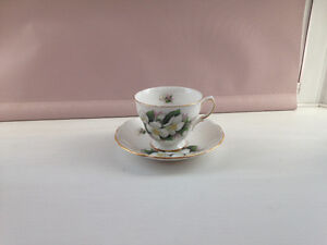 Royal Osborne Footed Cup and Saucer
