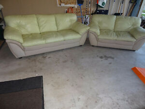 Couches and love seat set
