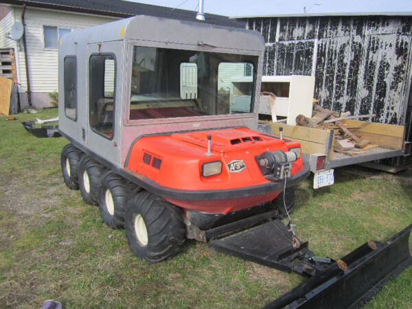 Used 1991 Argo 8 wheels