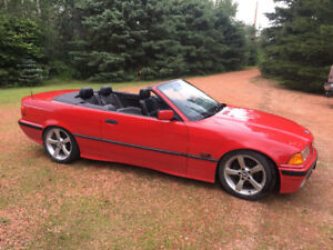 1994 BMW 3 Series 325i 2dr Convertible. 5-speed manual.