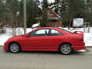 2003 Honda Civic Coupe SI with LOW kilometres