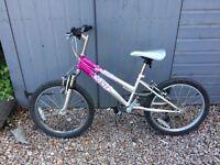 """Girls Bike 16"""" wheels age 7-10"""