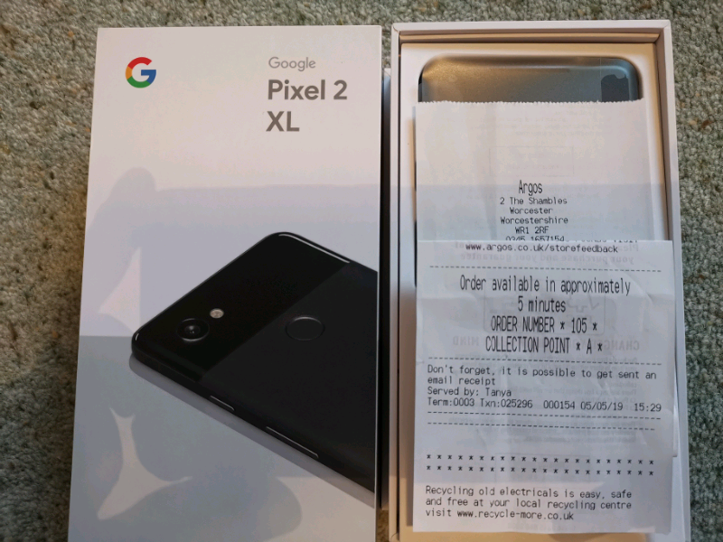 Google Pixel 2 XL 128 Gb Black | in Worcester, Worcestershire | Gumtree
