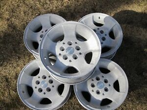 Jeep Wrangler Stock Aluminum Rims - Set of 5